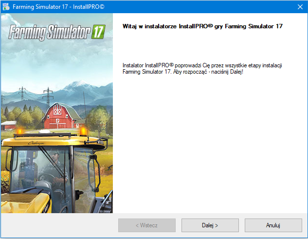 Farming Simulator 17 Instalator