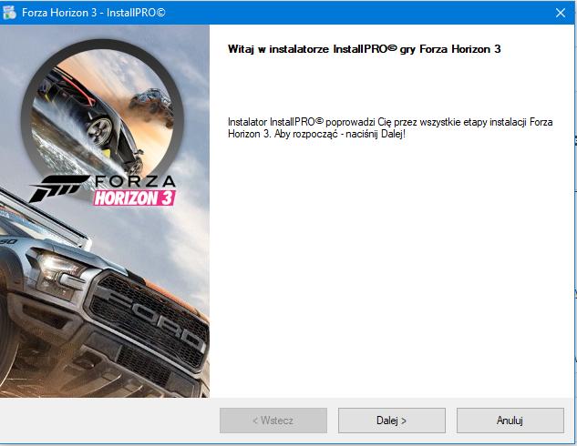 Forza Horizon 3 Instalator