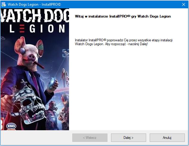 Watch Dogs Legion Instalator